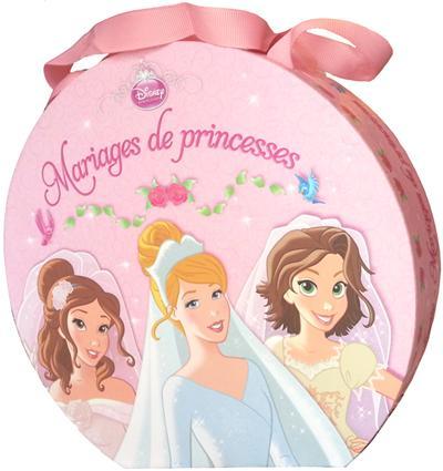 Disney Princesses - avec 1 serre-tête et 1 miroir : Ma valisette mariage de princesses