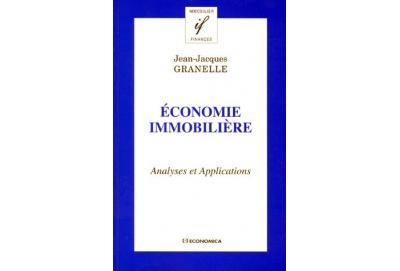Economie immobiliere analyses et applications