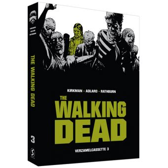 Box The Walking Dead verzamelcassette 3 SC: (LEEG + PRENT) BOX SC