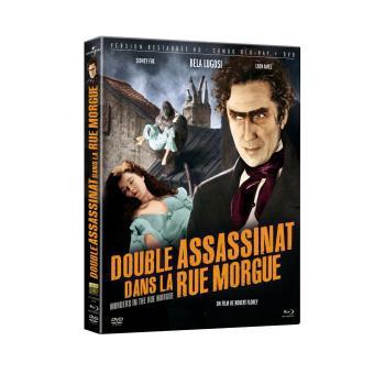 Double assassinat dans la rue Morgue Combo Blu-ray DVD