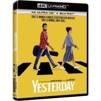 Yesterday Blu-ray 4K Ultra HD