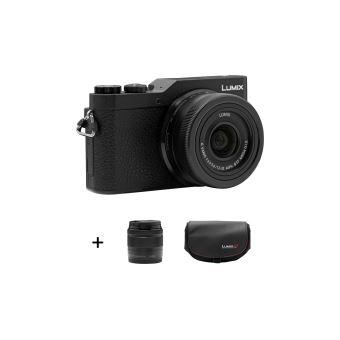 Panasonic DC-GX800 Hybride Camera Zwart + Lens 12-32mm + Lens 35-100mm + Draagtas