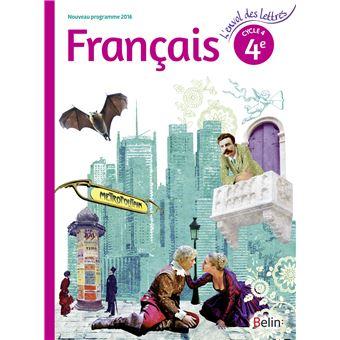L Envol Des Lettres Francais 4e 2016