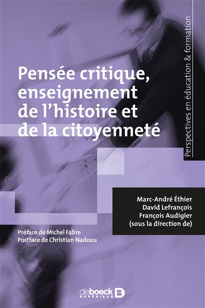 Pensée critique, enseignement de l'histoire et de la citoyenneté