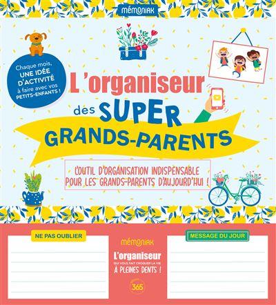 L Organiseur Mémoniak des super grands-parents 2020-2021