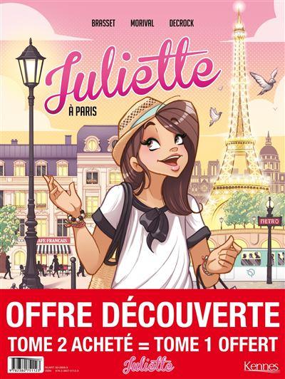 Juliette BD - pack T02 acheté = T01 offert