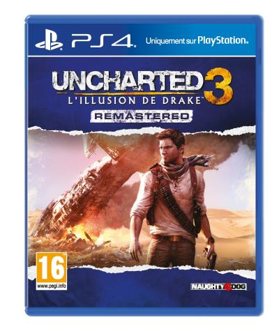 Uncharted 3 L'illusion de Drake Edition Remastérisée PS4