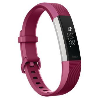 Bracelet connecté Fitbit Alta HR Mûre Taille L