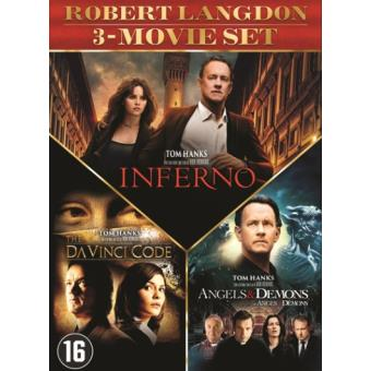 DA VINCI CODE - ANGELS & DEMONS - INFERNO-3DVD-BIL