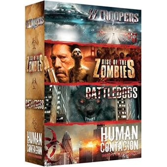 Coffret Zombies 4 films DVD