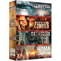 Coffret Zombies 4 films DVD