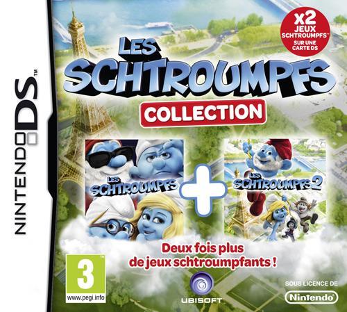 Compilation Schtroumpfs 1+ 2 DS - Nintendo DS