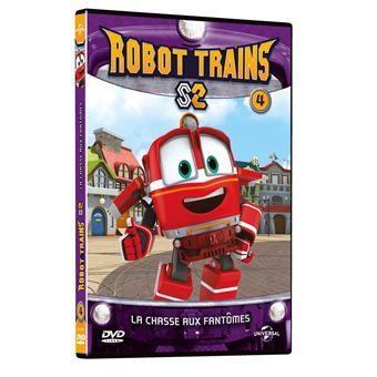 Robot TrainsRobot Trains : La chasse aux fantômes Volume 4 DVD