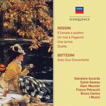 6 Sonate a quattro Un mot à Paganini Gran Duo Concertante