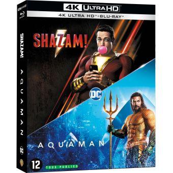 Justice leagueCoffret Nouveaux Héros 2 Films Blu-ray 4K Ultra HD