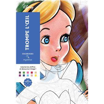 disneycoloriages mystres disney trompe loeil - Coloriage De Disney