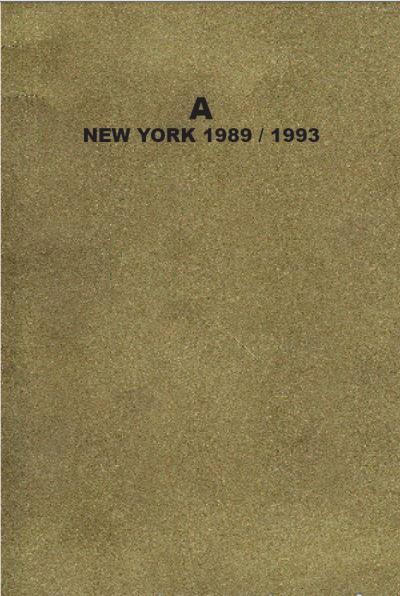 A New York 1989-1993