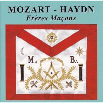 Freres macons/3 cantates maconniques/concerto pour trompette