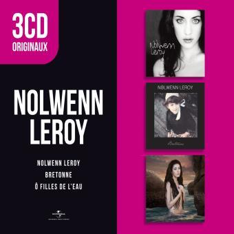 3 CD Originaux : Nolwenn Leroy, Bretonne, O filles de l'eau