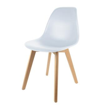 Chaise Scandinave The Home Deco Factory Coque Polypropylène ...