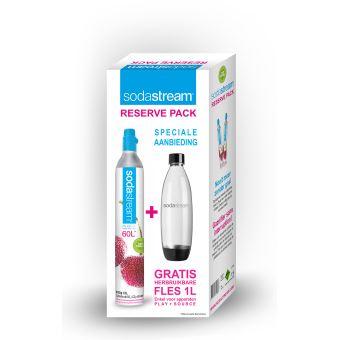Sodastream Pack de Réserve Fuse (1 Cyl + 1 Bouteille)