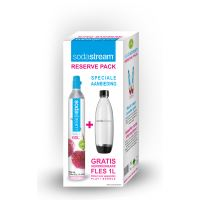 SodaStream Reserve Pack Fuse (Gasfles 60L + 1 Fles)