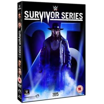 WWE Survivor Series 2015 DVD