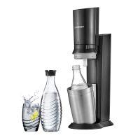 Sodastream Megapack Crystal Métal Noir + 2 Carafs