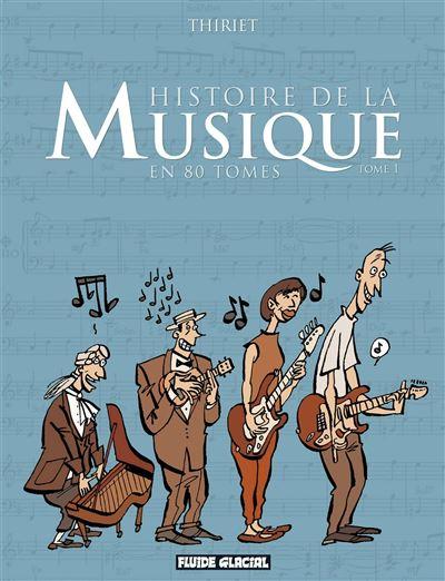 Histoire de la musique en 80 Tomes