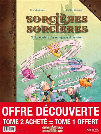 Sorcières Sorcières BD - pack T02 acheté = T01 offert