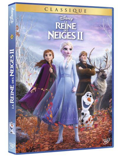 La Reine des Neiges 2 DVD
