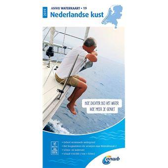 ANWB Waterkaart 19 Nederlandse Kust