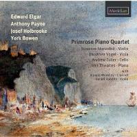 Œuvres de Elgar, Payne, Holbrooke, Bowen, Primrose Piano Quartet