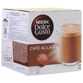Nescafé Dolce Gusto - Café au Lait 16 CAP 6X 160G