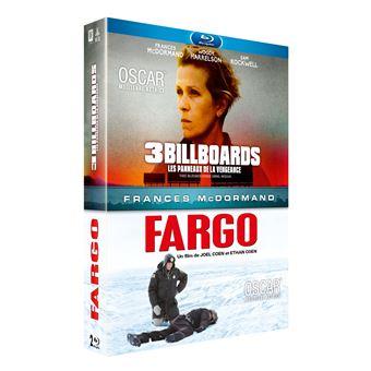 Coffret 3 Billboards Les panneaux de la vengeance Fargo Blu-ray