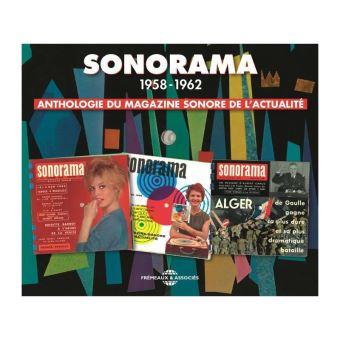 Anthologie du magazine sonore de l'actualité 1958-1962 Coffret Inclus un livret de 16 pages