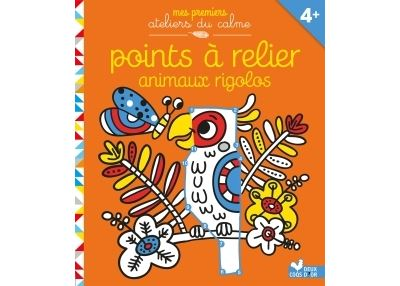 Points à relier - animaux rigolos