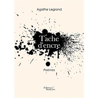 tache d 39 encre broch agathe legrand achat livre fnac. Black Bedroom Furniture Sets. Home Design Ideas