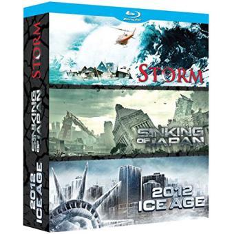 Coffret Catastrophe 3 films Blu-Ray