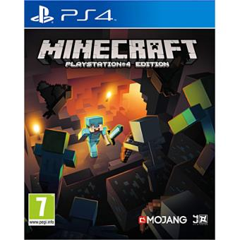 minecraft ps4 jeux vid o achat prix fnac. Black Bedroom Furniture Sets. Home Design Ideas