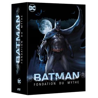 Batman animated seriesCoffret Batman Fondation du Mythe 4 films DVD