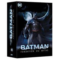 COFFRET BATMAN FONDATION DU MYTHE 5 FIMS-FR