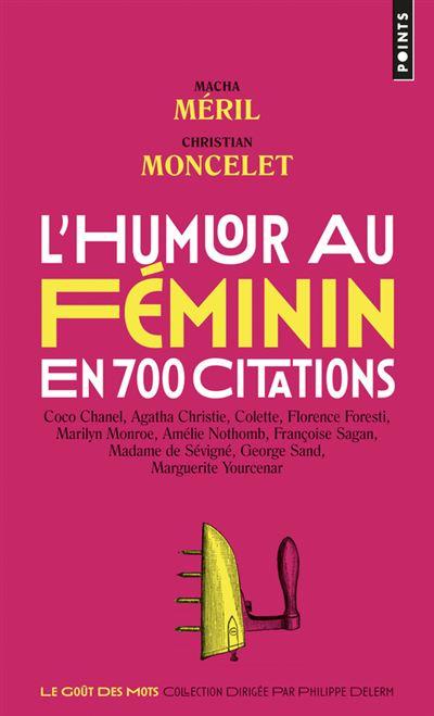 L'humour au féminin en 700 citations
