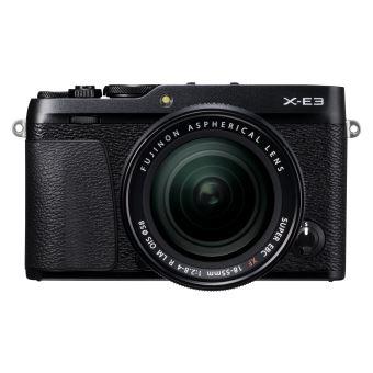 Hybride Fujifilm X-E3 Noir + Objectif XF 18-55 mm