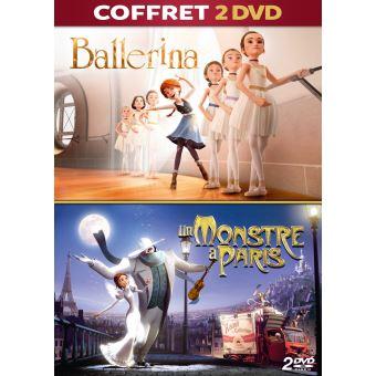 BALLERINA + UN MONSTRE A PARIS-COFFRET-FR