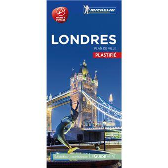 Carte Londres Michelin   broché   Collectif   Achat Livre | fnac