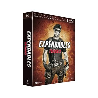 Expendables, coffret 3 films Blu-Ray