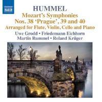 Symphonies 38 39 & 40 - Pour flûte violon violoncelle et piano