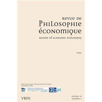 Philosophie economique,16-2