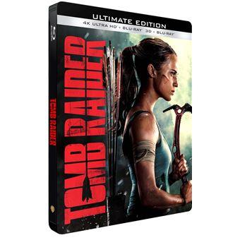 Lara Croft : Tomb RaiderTomb Raider Steelbook Blu-ray 4K Ultra HD